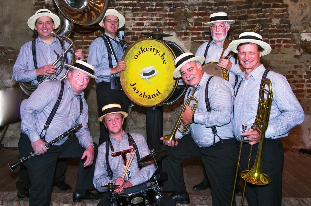Oakcity Jazzband Persfoto (kleur)